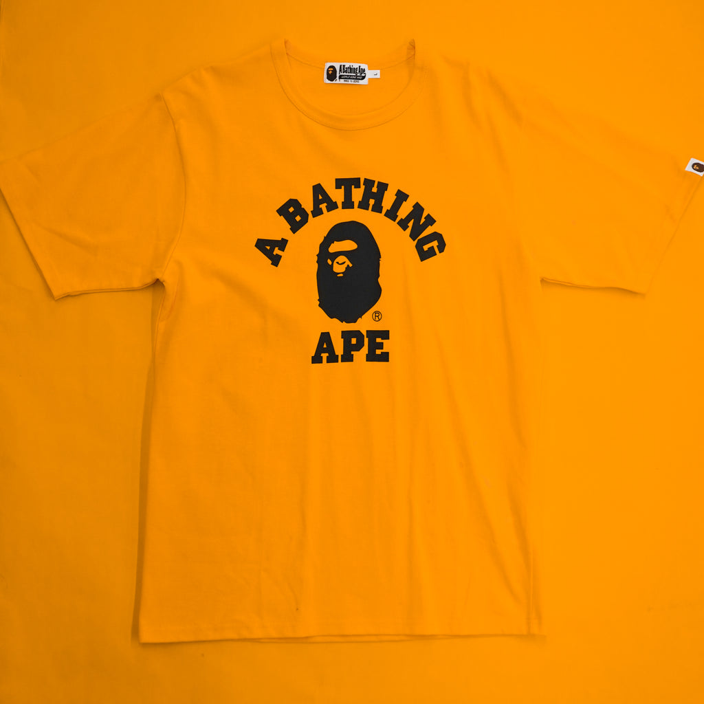 "A Bathing Ape "" College Tee"""