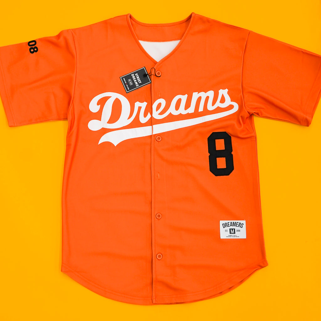 Major league Jersey ( Orange )
