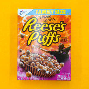 Reese's Puff Cereal x Travis Scott