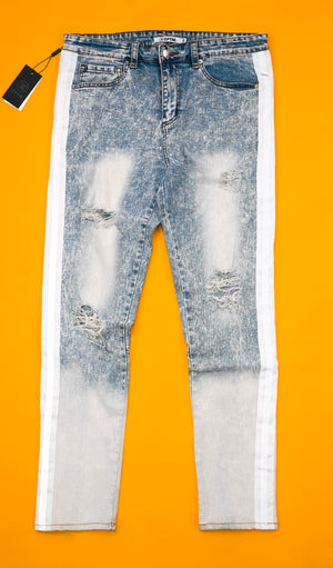 Ombre Reflective Denim