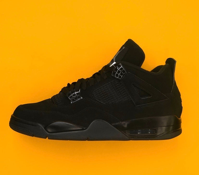 "Air Jordan Retro 4 "" Black Cat "" (VNDS)"