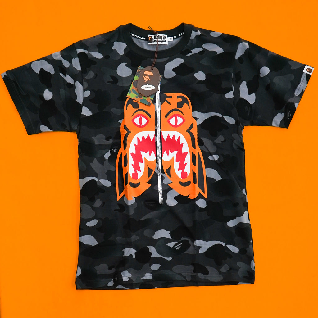 "A Bathing Ape ""Tiger Camo"" Tee"