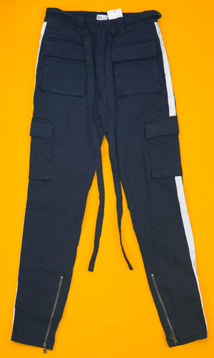 Reflective Cargo Twill Pants