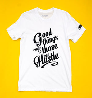 Good Hustle Tee ( White )