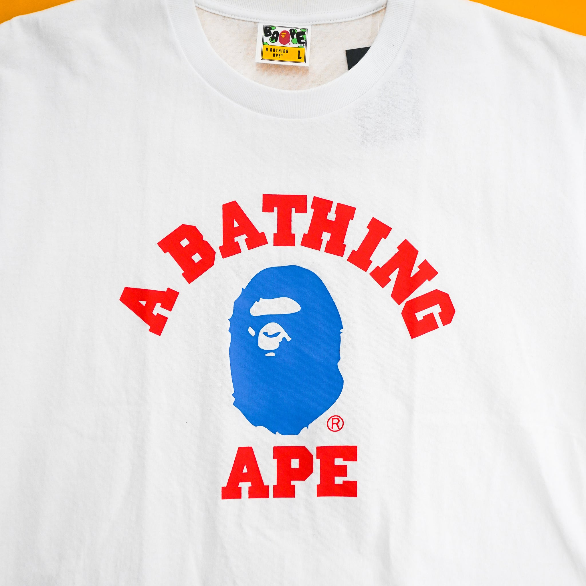 A bathing Ape College Tee