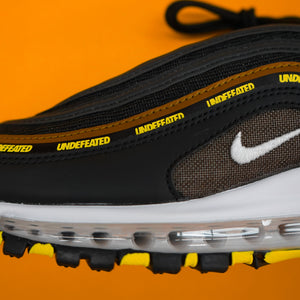 "Nike x Undefeated Airmax 97 ""Black Volt"""