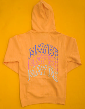 Maybe Arch Hoodie ( Peach )
