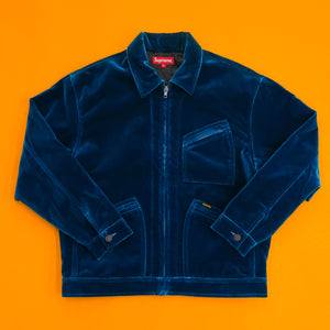 Supreme Velvet Work Jacket