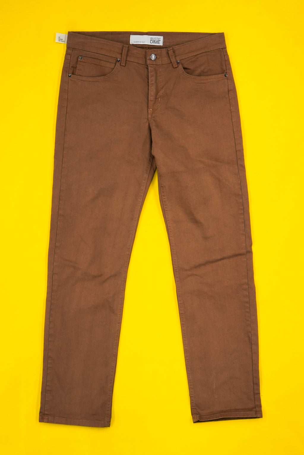 Slim Fit Jean ( Tobacco )