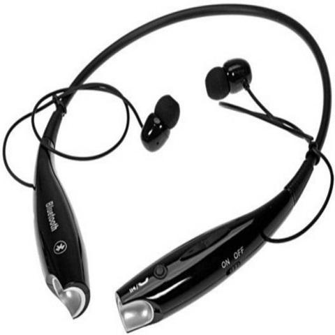 Bluetooth Neckband  Waterproof Headphone with Built-in Microphone for Android & Ios