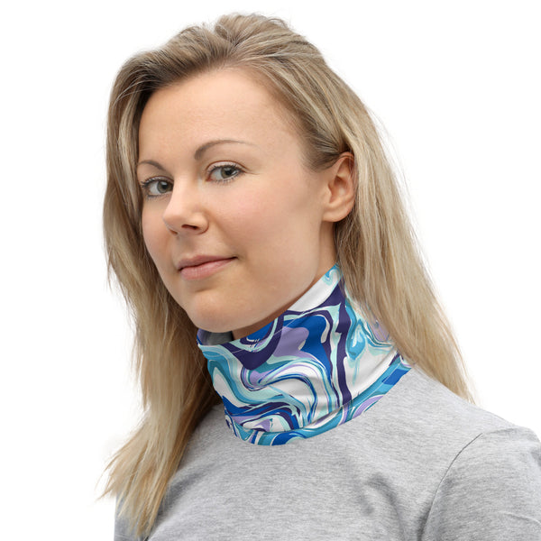 Blue Marble Neck Gaiter/ Face Mask