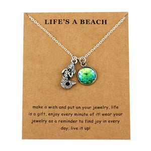 Beach Pendant Necklace
