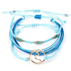 3-piece Boho Wave set Bracelet