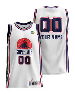Geelong Supercats Throwback Jersey - Personalised