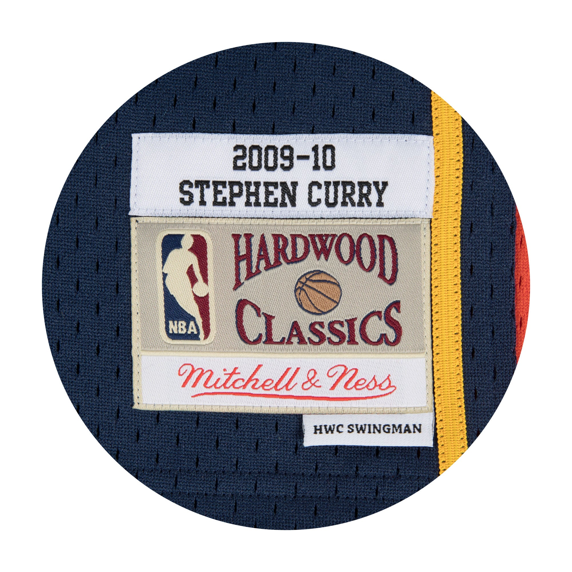 Golden State Warriors 09-10 NBA Swingman Jersey - Stephen Curry #30