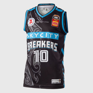 New Zealand Breakers 18/19 Youth Authentic Jersey - Tom Abercrombie