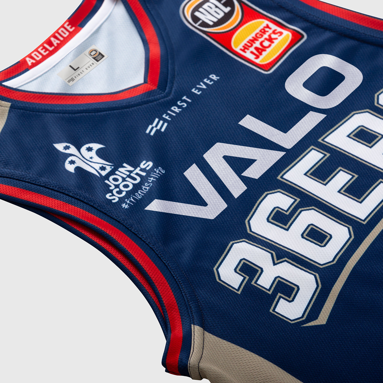 Adelaide 36ers 18/19 Authentic Jersey - Daniel Johnson