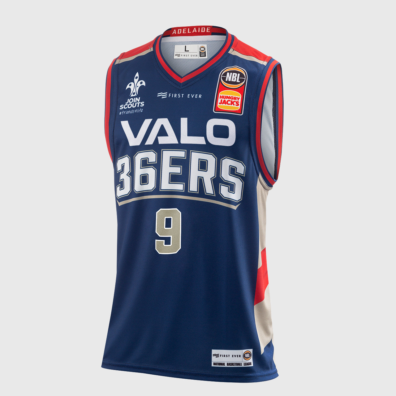 Adelaide 36ers 18/19 Authentic Jersey - Jack McVeigh