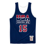 Mitchell & Ness USA '92 Basketball Magic Johnson Reversible Jersey