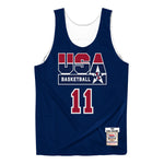 Mitchell & Ness USA '92 Basketball Karl Malone Reversible Jersey