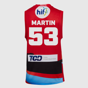 Perth Wildcats 18/19 Authentic City Jersey - Damian Martin