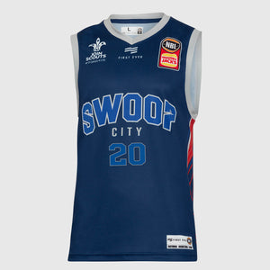 Adelaide 36ers 18/19 Authentic City Jersey - Nathan Sobey