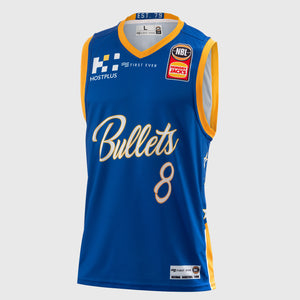 Brisbane Bullets 18/19 Authentic Jersey - Cam Bairstow