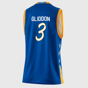 Brisbane Bullets 18/19 Authentic Jersey - Cam Gliddon