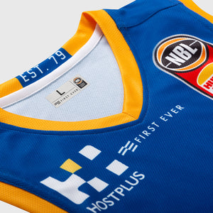 Brisbane Bullets 18/19 Authentic Jersey - Mika Vukona