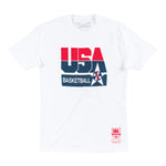 Mitchell & Ness USA '92 Basketball SS T-Shirt - White