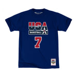 Mitchell & Ness USA '92 Basketball Larry Bird SS T-Shirt