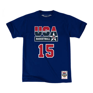 Mitchell & Ness USA '92 Basketball Magic Johnson SS T-Shirt