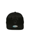 Chicago Bulls All Black 110 Snapback Cap