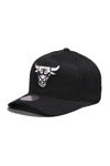 Chicago Bulls Black And White Logo 110 Snapback Cap