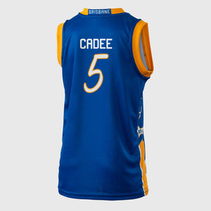 Brisbane Bullets 18/19 Youth Authentic Jersey - Jason Cadee