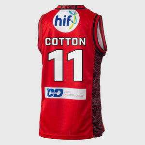 Perth Wildcats 18/19 Youth Authentic Jersey - Bryce Cotton