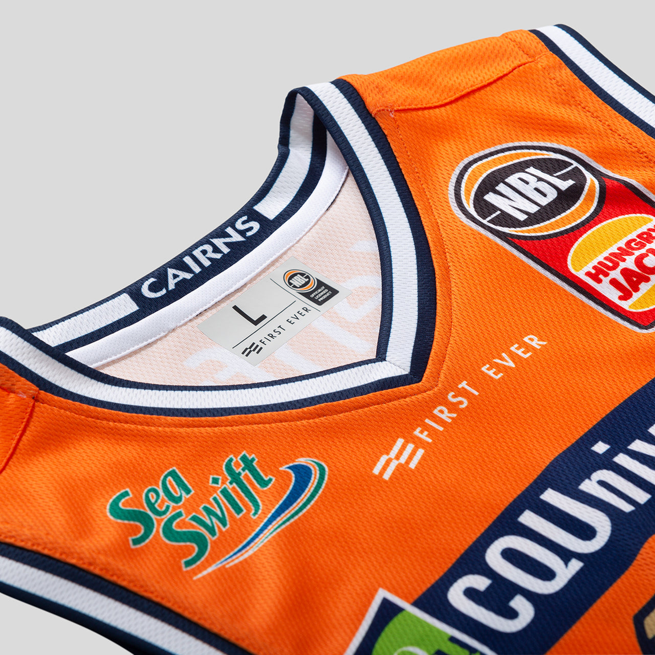 Cairns Taipans 18/19 Authentic Jersey