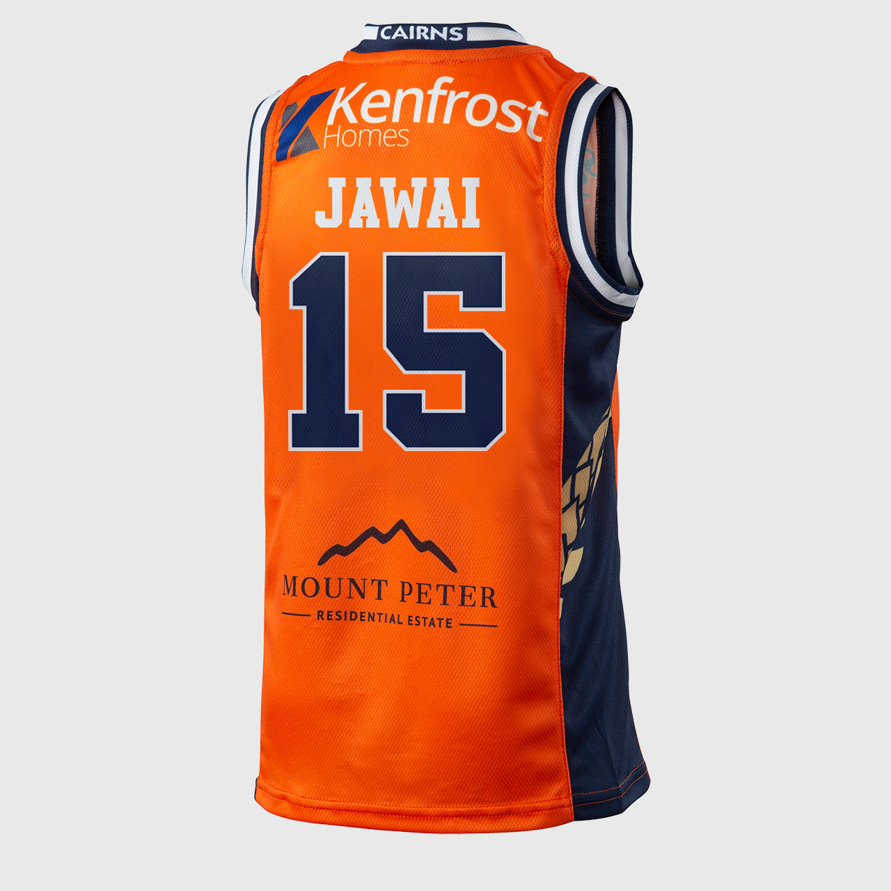 Cairns Taipans 18/19 Youth Authentic Jersey - Nate Jawai
