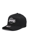 Los Angeles Lakers Black And White Logo 110 Snapback Cap