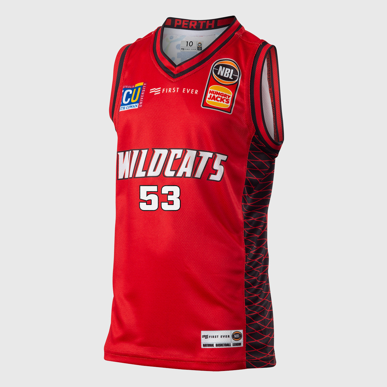 Perth Wildcats 18/19 Youth Authentic Jersey - Damian Martin
