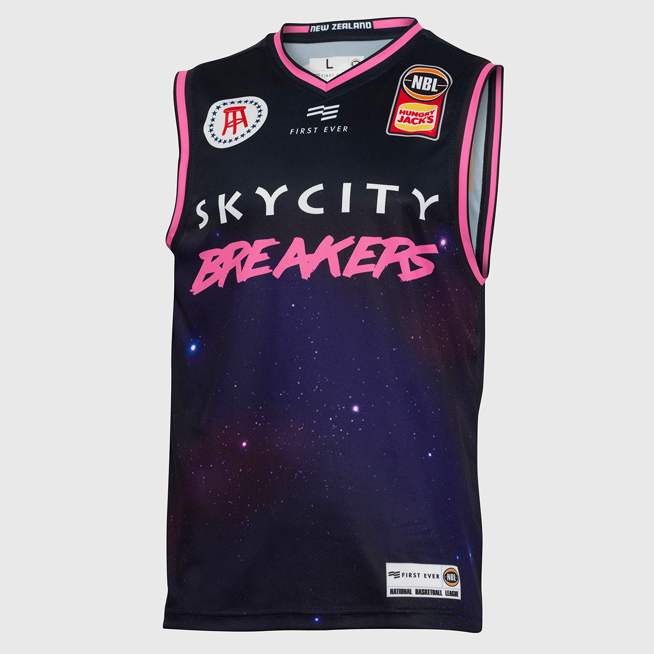 New Zealand Breakers 18/19 Authentic City Jersey