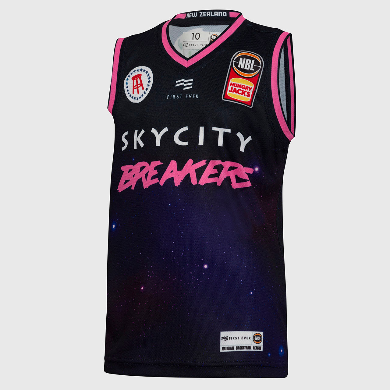 New Zealand Breakers 18/19 Youth Authentic City Jersey