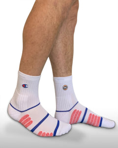 Champion NBL 20/21 Quarter Crew Socks - White