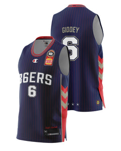 Adelaide 36ers 20/21 Authentic Home Jersey - Josh Giddey