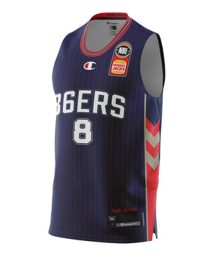 Adelaide 36ers 20/21 Authentic Home Jersey - Isaac Humphries