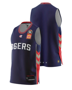 Adelaide 36ers 20/21 Authentic Home Jersey
