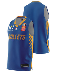Brisbane Bullets 20/21 Authentic Home Jersey