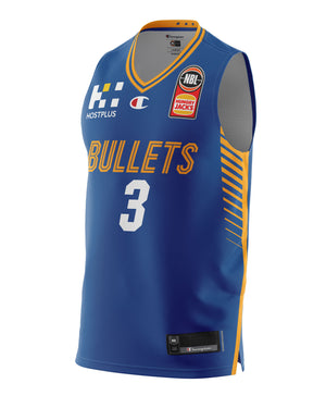 Brisbane Bullets 20/21 Authentic Home Jersey - Anthony Drmic