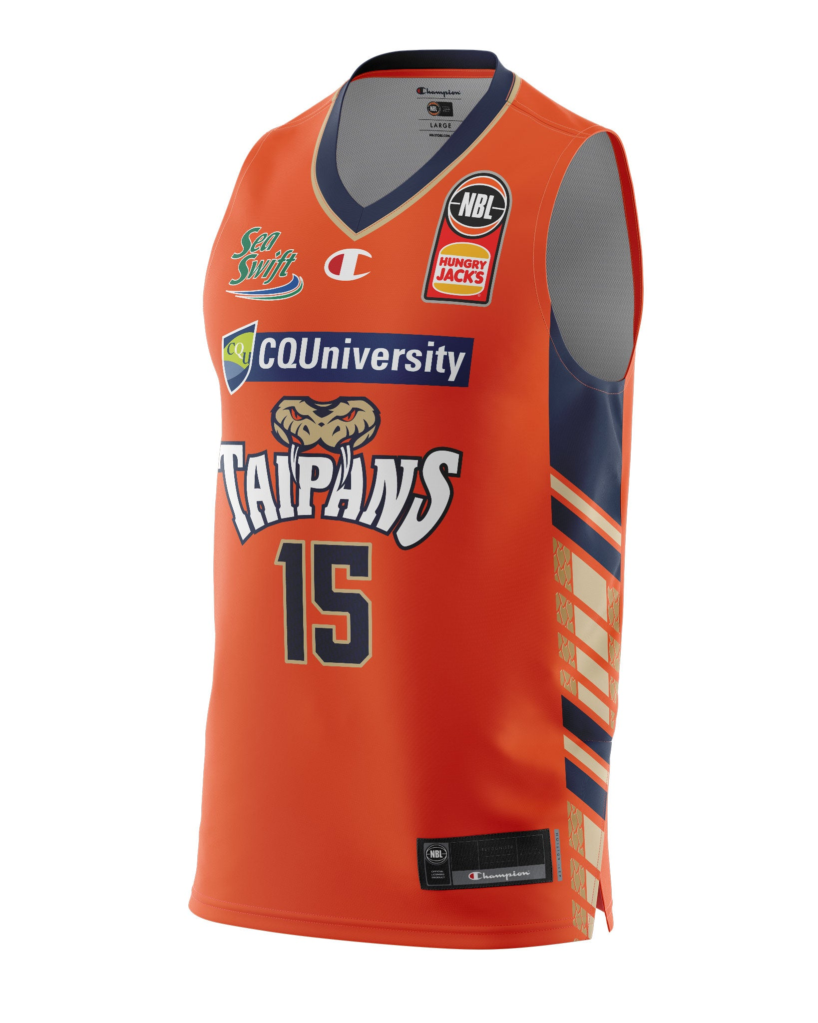 Cairns Taipans 20/21 Authentic Home Jersey - Nate Jawai