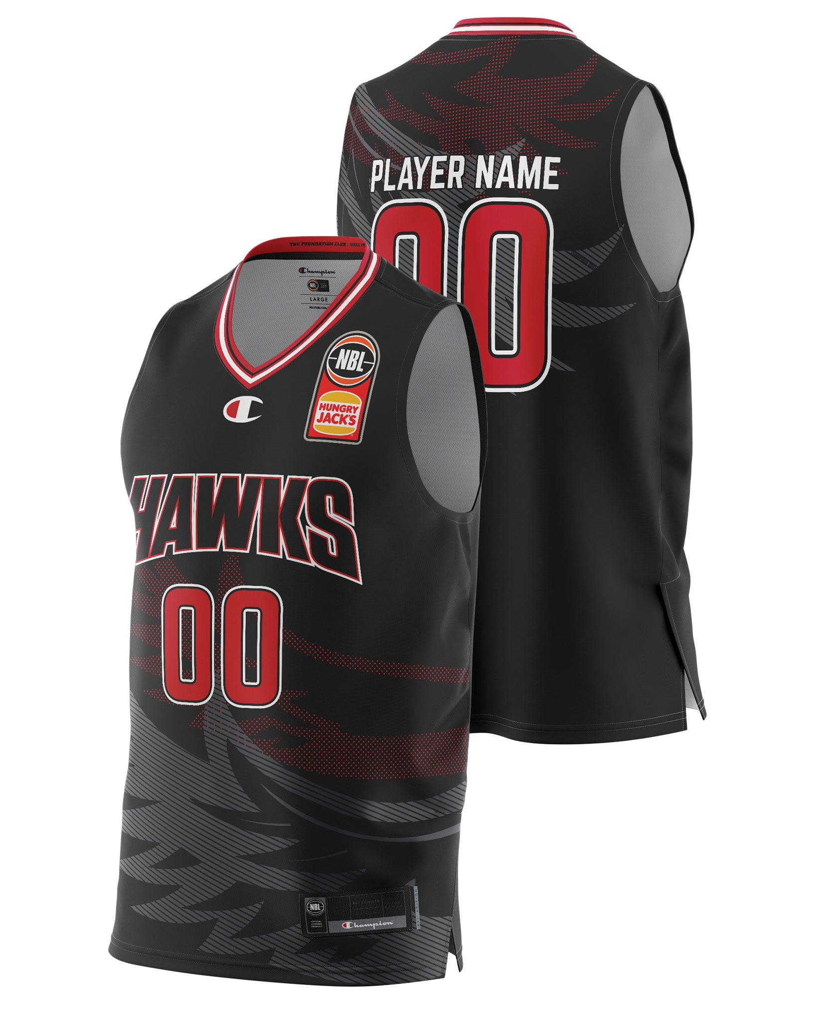 Hawks 20/21 Authentic Home Jersey - Other Players
